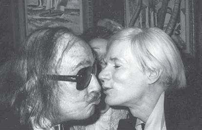 The two artists both resided in New York then and met for the first time in 1965. Warhol visited Dalí s suite at the St.