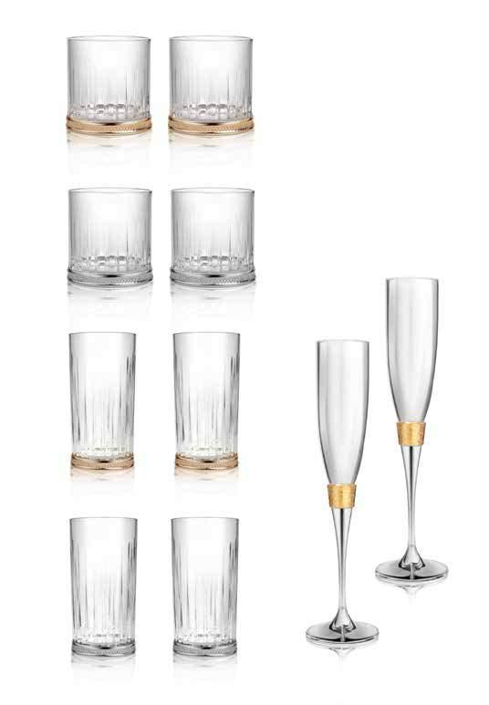 A TOAST TO GOOD TIMES Elevate your celebrations with our exclusive collection to make your treasured