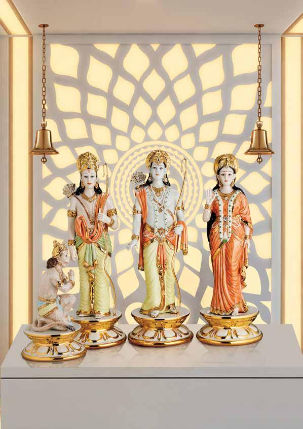 Celestial Ram Darbar Glorious renditions in vibrant