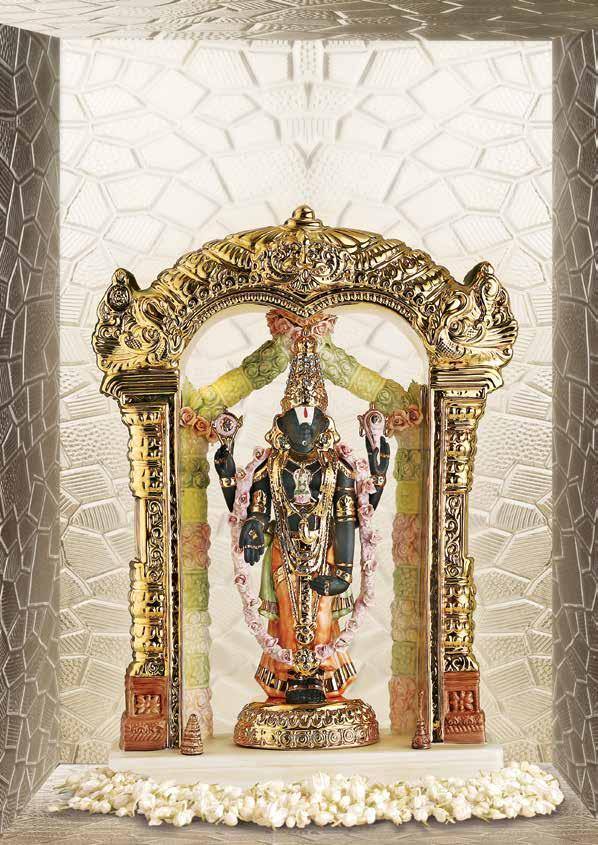 Blessed Balaji Ornate and