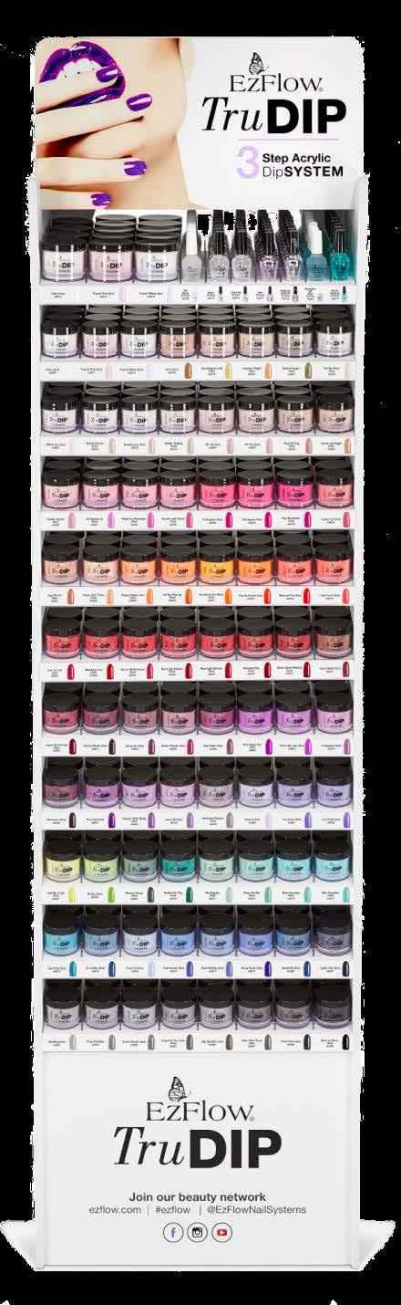 Acrylic Dipping System  Coming July Brand New TruDIP Shades