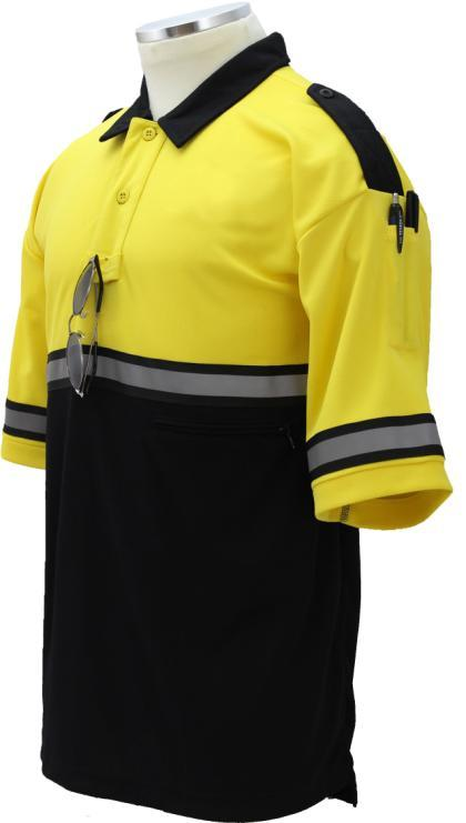 BIKE PATROL POLO SHIRTS HIGH VISIBILTY TWO-TONE BIKE PATROL