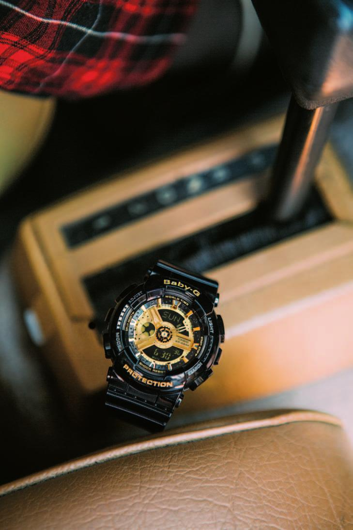 Casio Baby G Collection Featured 6 People Pdf Bga 230 7b2 Original Black And Gold Color Series Ba 110 1a Bg 6901 1