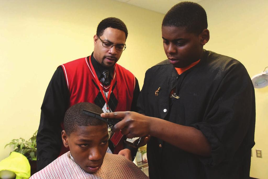 Barbering Have you ever dreamed of owning your own barber shop? The Barbering program will prepare you for all careers related to the field.