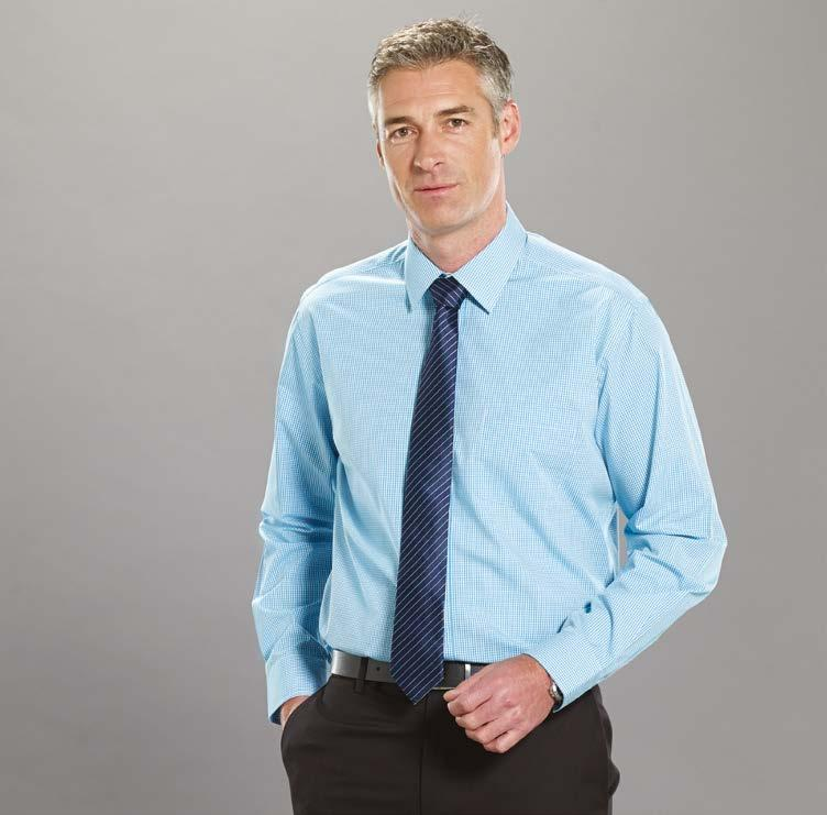 grey sky teal crimson Wrinkle free Style No.1637L Our Wrinkle Free shirts are always grey sky Cotton Rich.