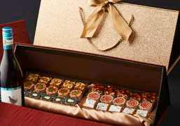 Special Order Gift Boxes Sensational Luxe Gift Box 1 30 sweets paired with a sweet