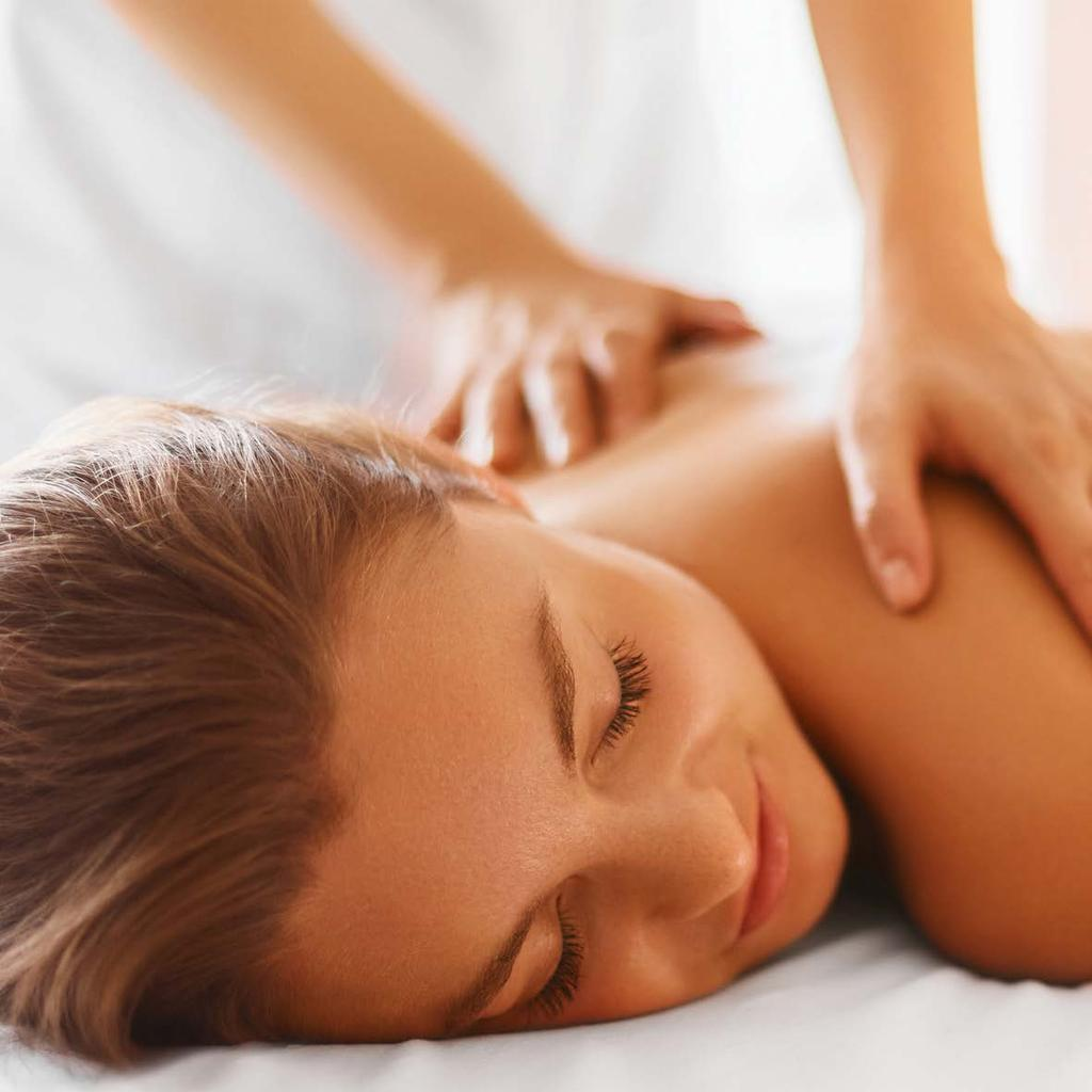 ORGANIC SPA MASSAGE SERENITY BODY MASSAGE (55 mins) Sink into a beautifully calming and balancing full body massage, designed to relax your mind, body and spirit.