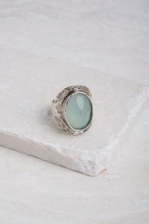 Chalcedony Whole sizes 5-10 $59 R1022 NEW Sterling Silver and