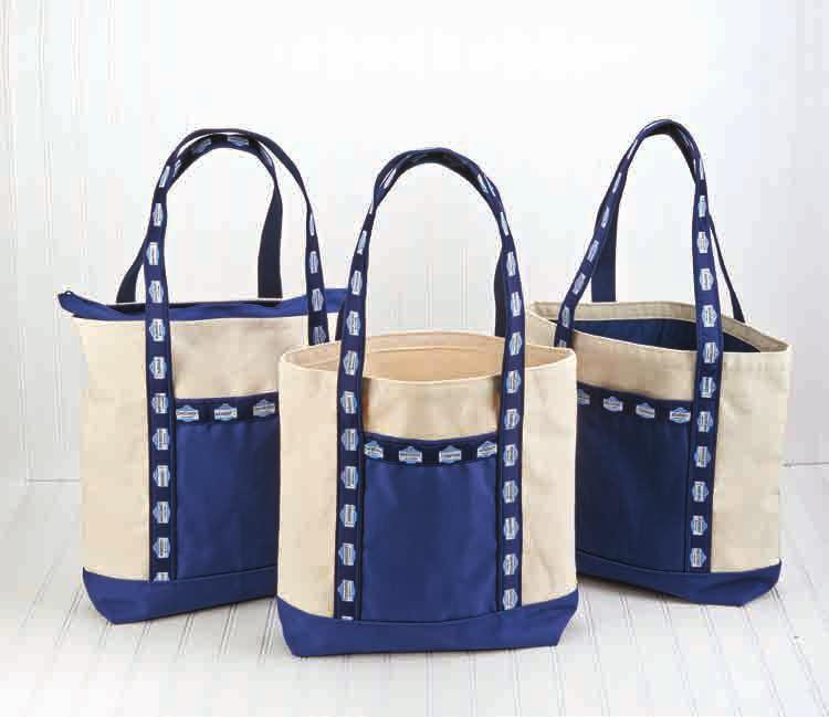 1064 - Classic Tote 23 x 14 1064L - Lined Tote 7063R - Medium