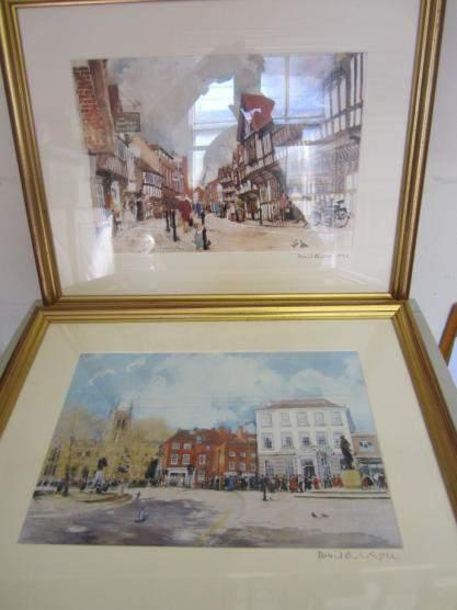 78 Two David Birtwhistle signed framed prints