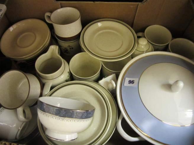 Doulton china including Lambeth Ware and