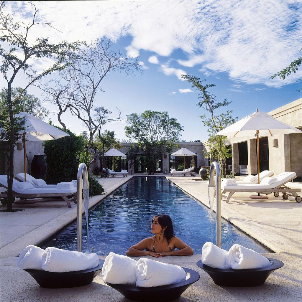 Royal Malewane is home to one of the most exclusive spas on the continent, providing world-class treatments.