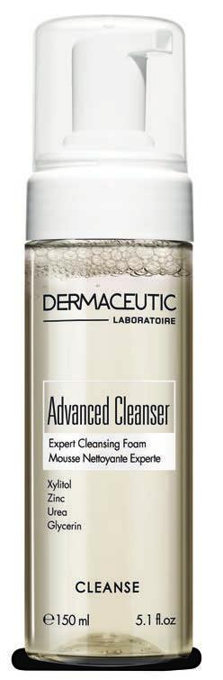 CLEANSE Advanced Cleanser EXPERT CLEANSING FOAM Expert Cleansing Foam Daily cleanser. Effectively removes make-up and excess sebum to give skin a clean, fresh and hydrated feel.