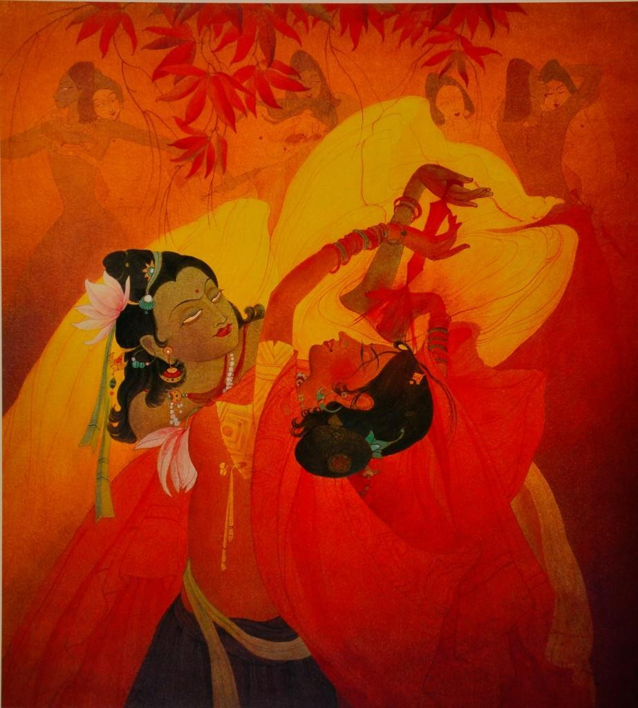 HOLI PAINTING BY ABDUR RAHMAN CHUGHTAI Chughtai was highly regarded as one of Pakistan s best artists following the creation of Pakistan.