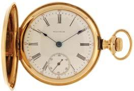 #17030039, 99.7g TW, c1910. $600-$800 1071 1074 American Waltham Watch Co., Waltham Mass.