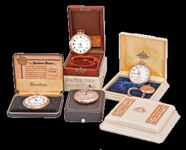 1138 Pocket watches- 2 (Two): The first a 6 size Waltham, 13 jewel nickel movement, Arabic numeral white enamel dial, 14 karat yellow gold case, serial #3069518, the other by Jules Perrenoud, 15