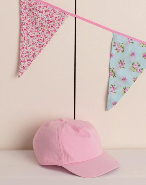 BABY CAP LW090 Cotton twill cap with