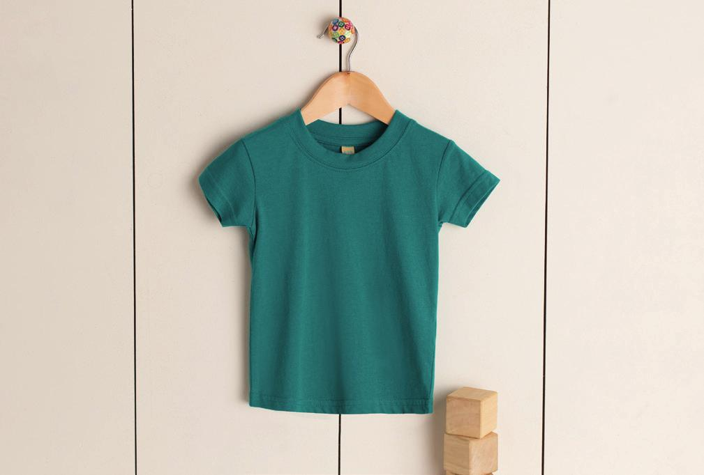 CREW NECK T-SHIRT LW020 Crew neck T-shirt with twin needle stitching at neck, hem and sleeves.