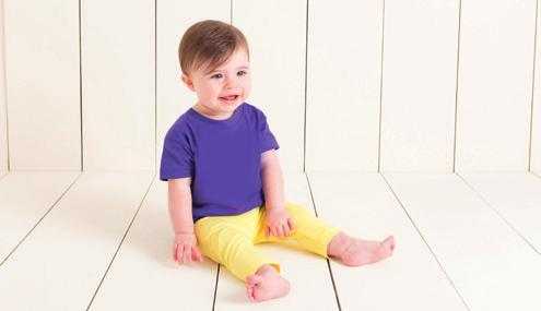 Navy, Pale Blue, Pale Pink, Pale Yellow, Red, Royal and White are available up to age 5/6 years.