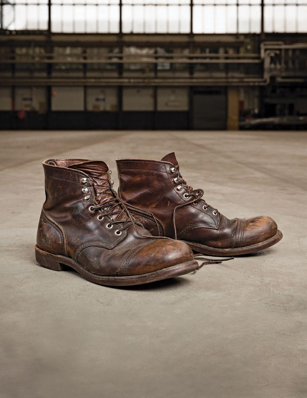 Red Wing Heritage North America Pdf Cut Engineer Classic Shoes Iron Safety Boots Leather Dark Brown Transcription