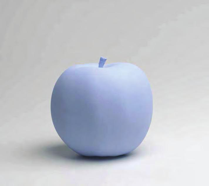 KATHARINA FRITSCH Apple, 2009/2010 For Parkett 87 High speed resin cast, color, hand