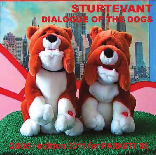 STURTEVANT Dialogue of the Dogs, 2005/2011 For Parkett 88 Animated film, 1 min.