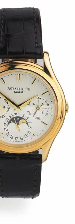 684 684 p atek p hilippe gentleman's wristwatch of 18 ct. gold. ref. 5140j-001.