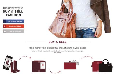 Poshmark, a peer-to-peer apparel resale marketplace founded in 2011, has c81b94e553