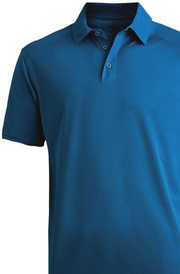 3-button placket Ladies has soft open v-neck and feminine shape with princess seams Antimicrobial fabric