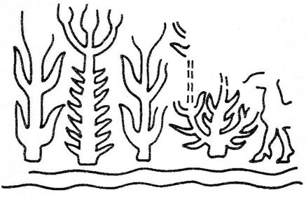 2: This cylinder seal from Susa (from Rova 1994 n 419) might depict flax harvest according to Breniquet 2008, 273.