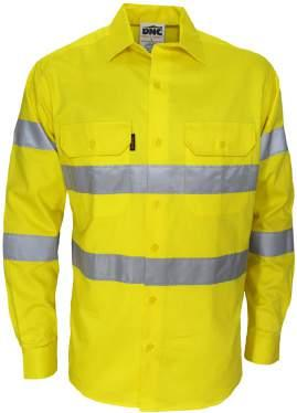 3545 HIVIS 3 WAY VENTED X BACK & BIO- MOTION TAPED