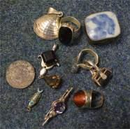 brooches etc.