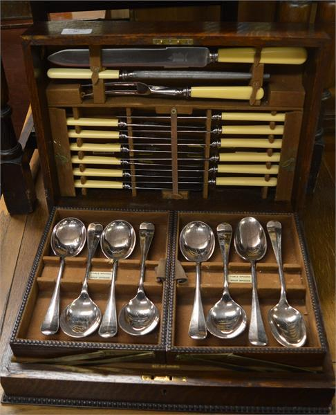 cased EPNS cutlery