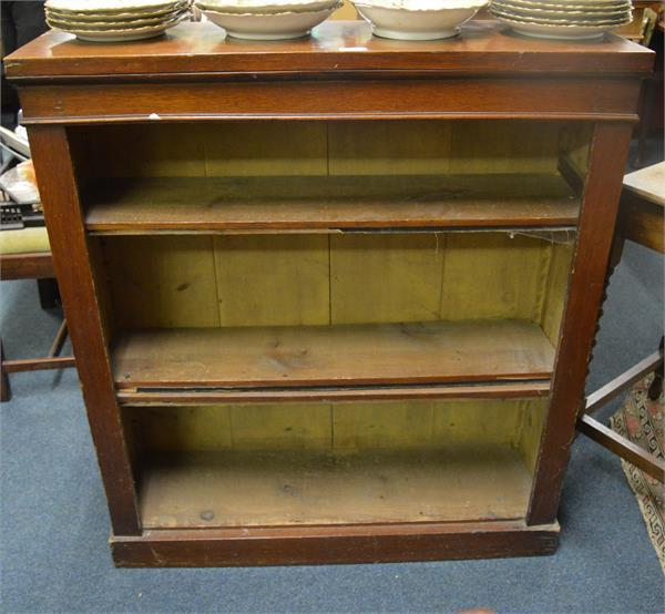 Edwardian bookcase.