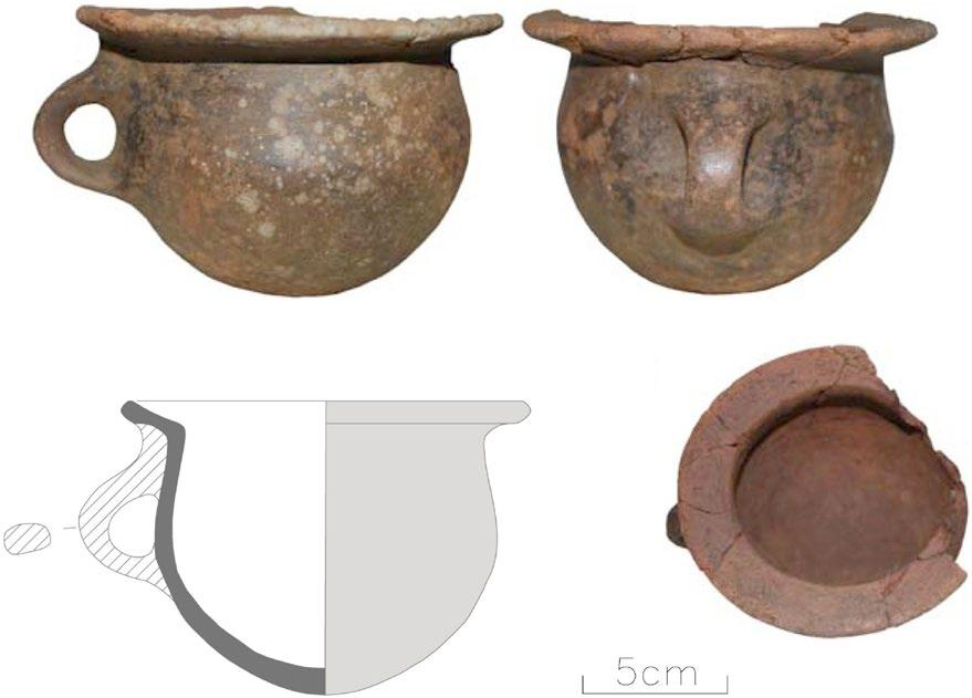 Later Prehistory to the Bronze age: 1. The Emergence of warrior societies Figure 1. Vessel 77, from the site of Marco de Camballón (Nonat et al.