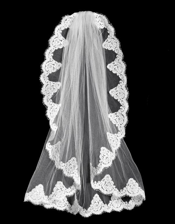 Specialty Veils on Combs available with or