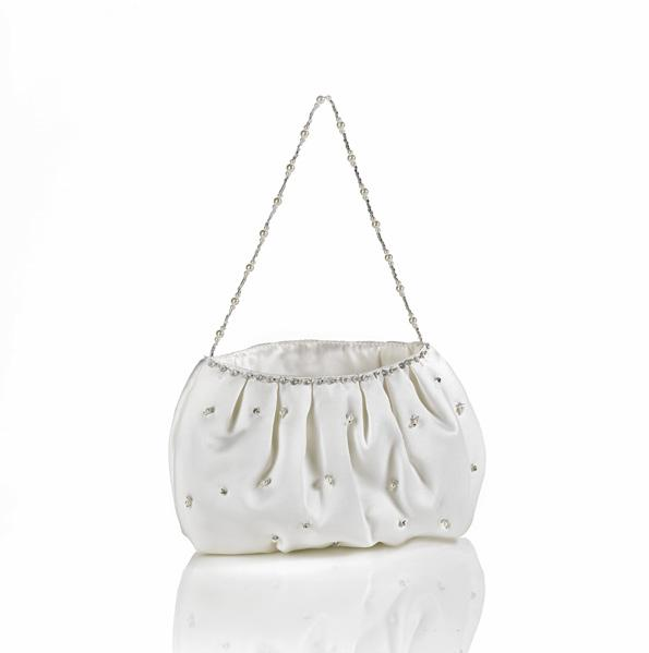 Purses all avail in white or lightest ivory #2696 A stunning variety of scattered gemstones (teeny