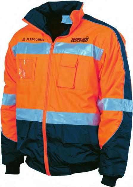 HIFLEX HI-VISIBILITY 3913 & 3911 Hivis D/N Cool-Breathe Polo Shirt With 3M 8906