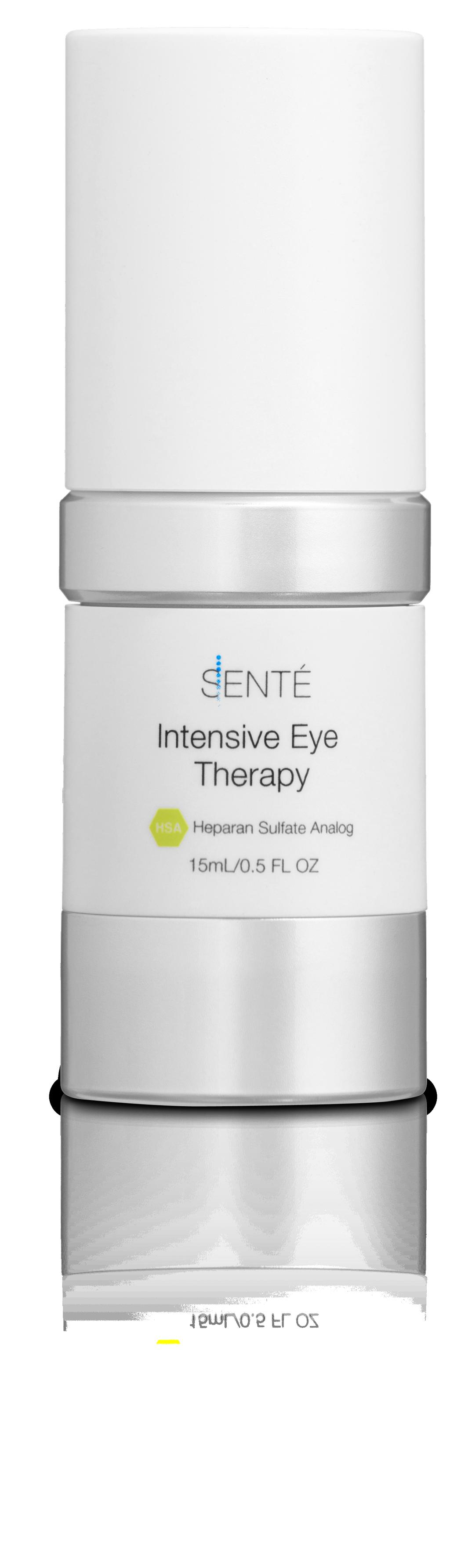 32 INTENSIVE EYE THERAPY Designed specifically to reinvigorate aging skin surrounding the eye.