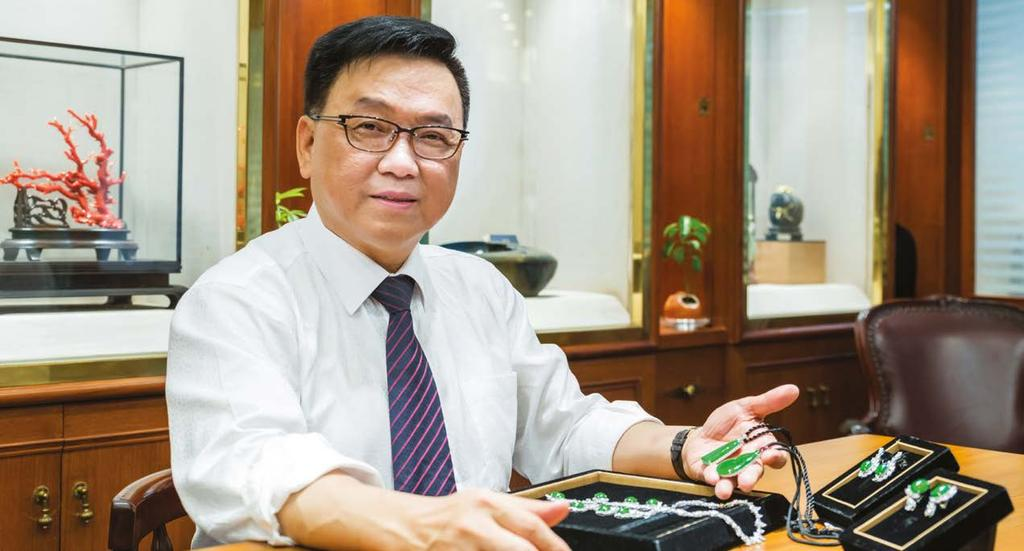 LEGENDS CHIA TA S bejewelled treasures To Yu Chung-ta, founder and president of Chia Ta Jewellery Co Ltd, hunting for precious and rare gemstones from around the world is more than just business it s