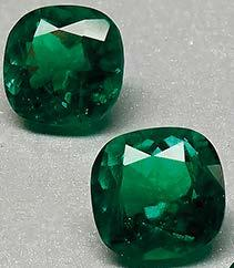 INTELLIGENCE ENCHANTED BY EMERALDS Emeralds continue to command attention in the international coloured gemstone industry, thanks to their immense value and historic charm.