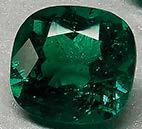 Domingo Colombian emeralds with a total weight of 35.