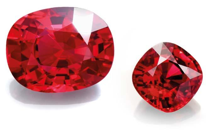 INTELLIGENCE RESPLENDENT RUBIES The ruby s formidable status in the realm of gemstones remains unchallenged to this day.
