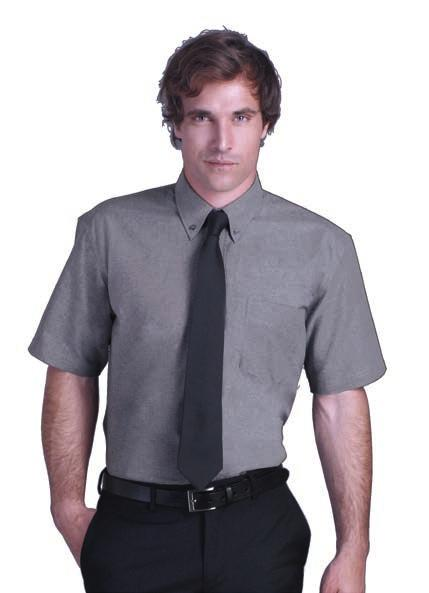 side pocket 2 side pleats at back 2 buttons collar Tone to tone 7 buttons placket Silver Sky