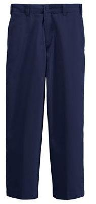 Grades 6-12 boys /men s Plain Front Stain/Wrinkle Resistant Chinos Pleated Front Blend Chino Pants Pleated Front Stain/Wrinkle Resistant Chino Pants 243847-BQ1 Little Boy 4-7 $25.