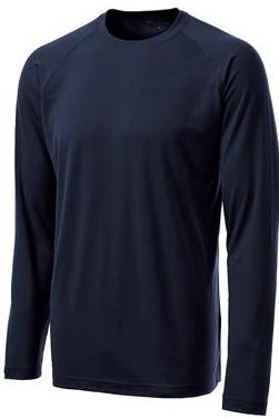 5-ounce, 95/5 poly/spandex jersey * Tag-free transfer label * Loose athletic fit * Raglan sleeves * Ladies has gently
