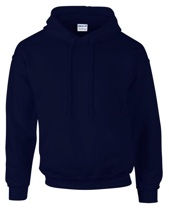 HOODED SWEATSHIRT Details: Air jet spun yarn for softer feel and no pill Double-lined hood with matching drawstring Twin needle stitching Pouch pocket Set-in sleeves 1 x 1 athletic rib with