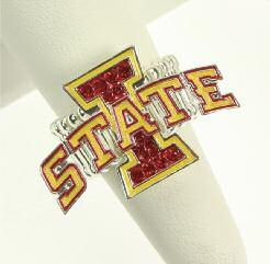 IOWA STATE CIWSP Crystal Pin